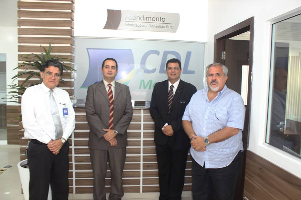 Visita a CDL do superintendente do Banco do Brasil/ AM